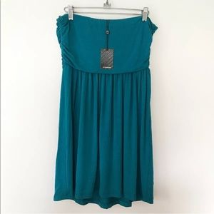 Tart Dresses - TART teal strapless dress